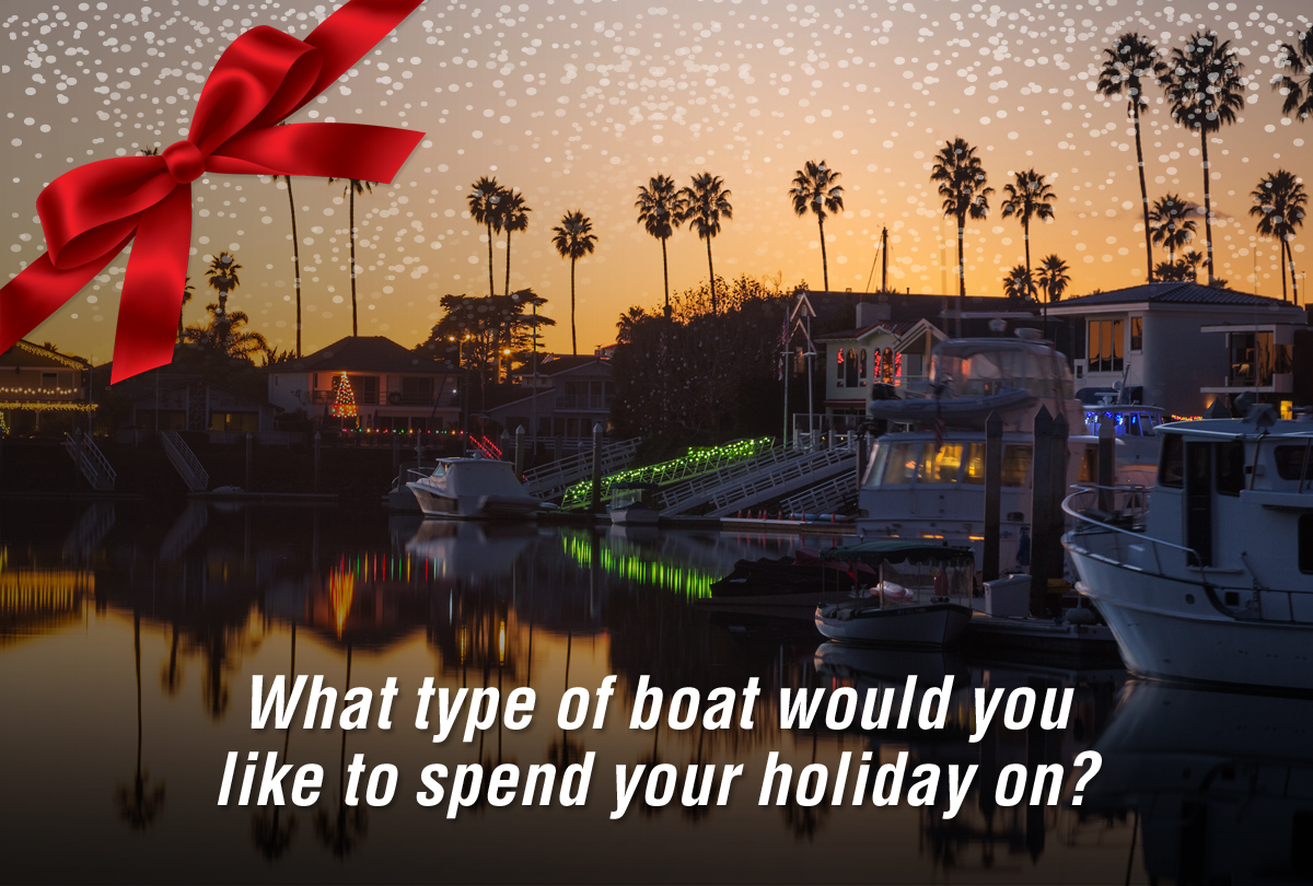 What's your perfect Christmas boat? Take the quiz