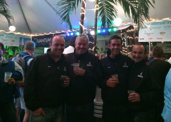 UK J/70 finishes third at Key West Race Week 2014