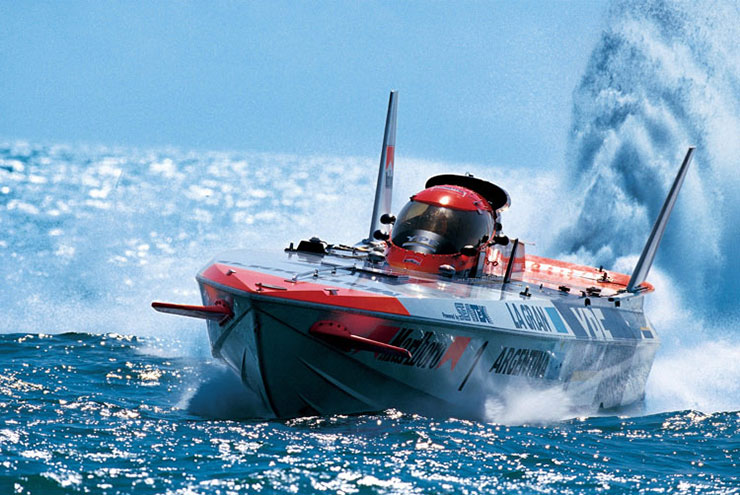 The World's fastest powerboats