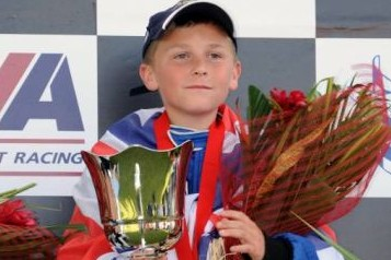 Britain's youngest world speed record holder