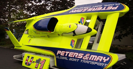 U-11 Hydroplane to attempt record on Coniston Water