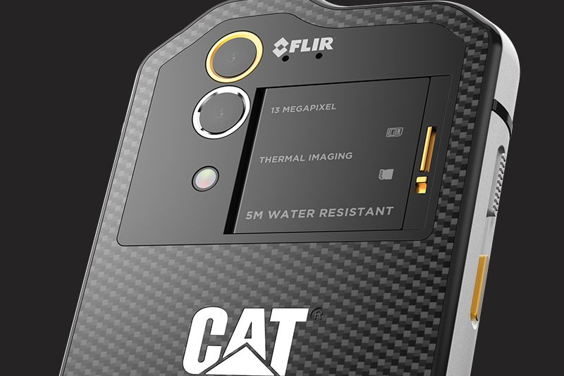 Cat S60 mobile phone with thermal imaging