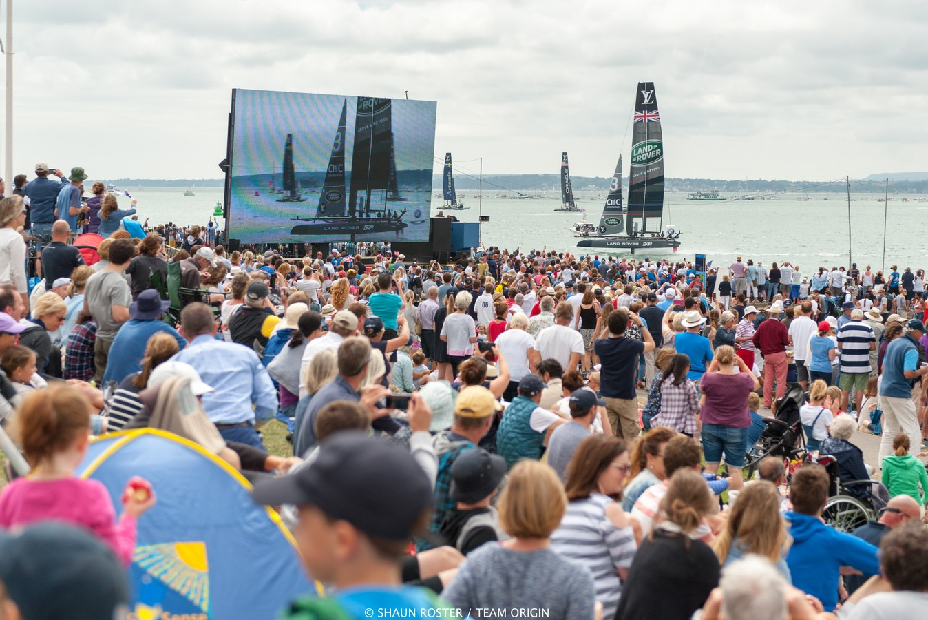 Ainslie wins 2016 Portsmouth America's Cup event