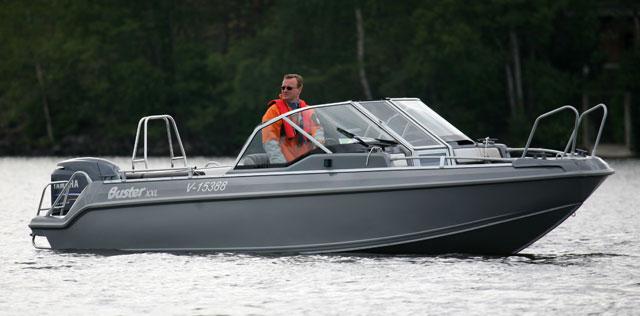 Buster Xxl An Aluminium Sportsboat From Finland Boats Com