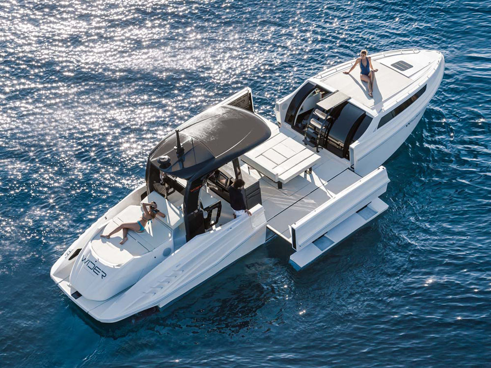 Wider 42 Best Party Boats