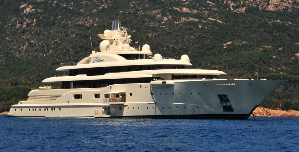 Yacht Dilbar