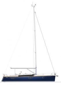 Gunfleet 43 sailplan