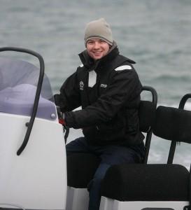 Brig Navigator 570 helm smile