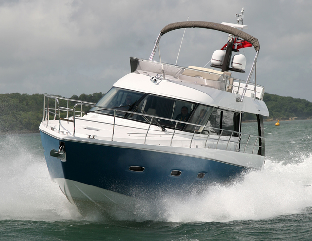 The F48 is the latest Sealine