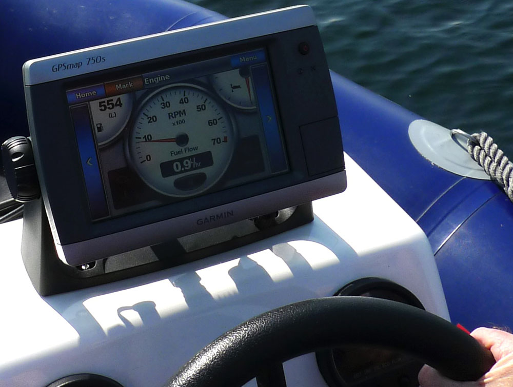 How to conduct the perfect powerboat sea trial for Outboard motor fuel consumption calculator