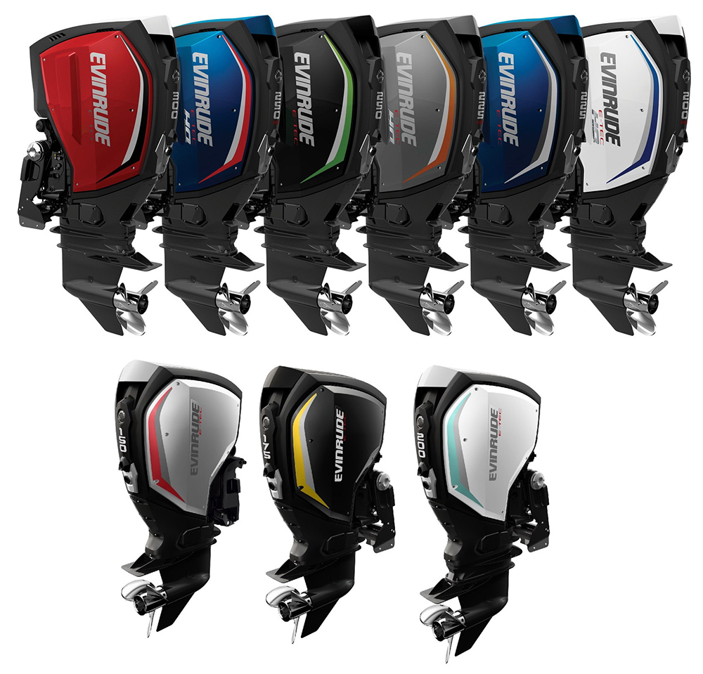 10 Best Outboard Engines Boatscom Wiring Diagram Evinrude 2015 E Tec 40 G2 Line Up