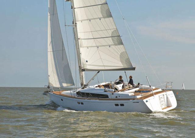 Gunfleet 43 under sail