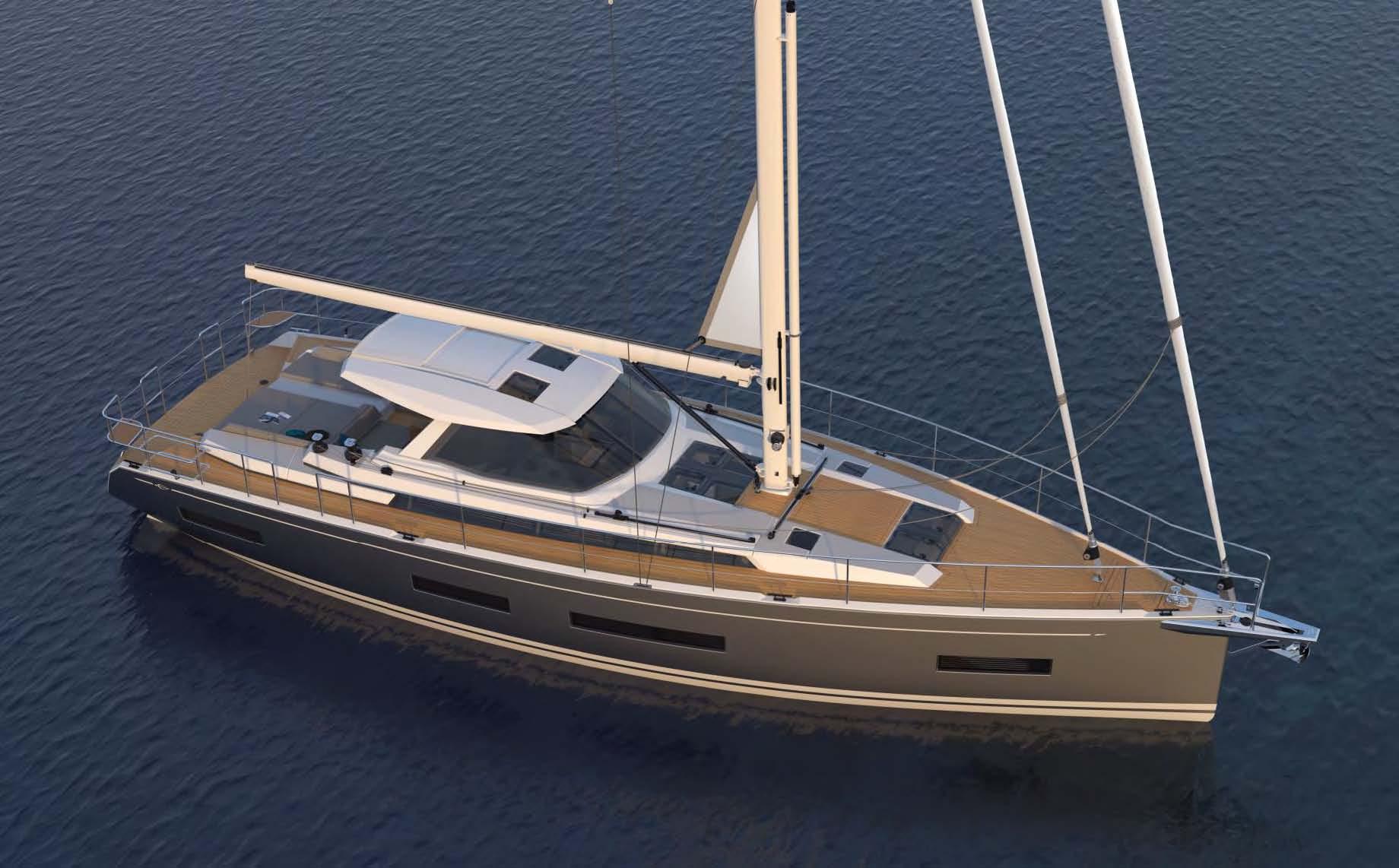 Amel 50 introduced - boats com