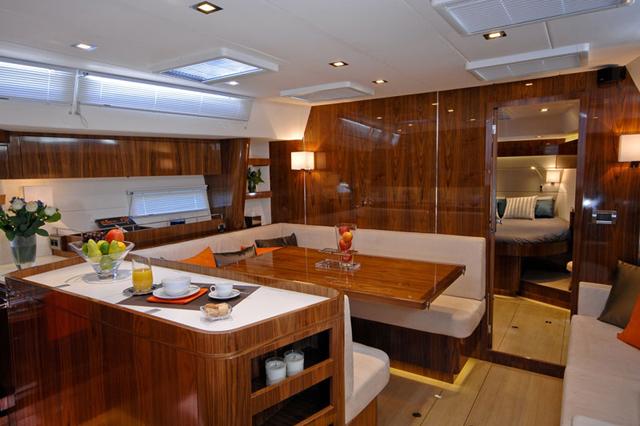 Amel 55 Review Boats Com