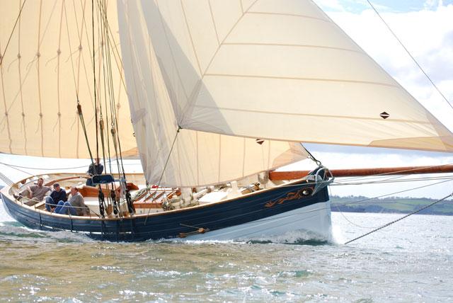 Dick james world sailing
