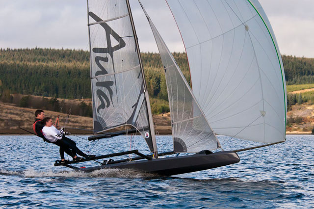 Aura skiff from Ovington Boats