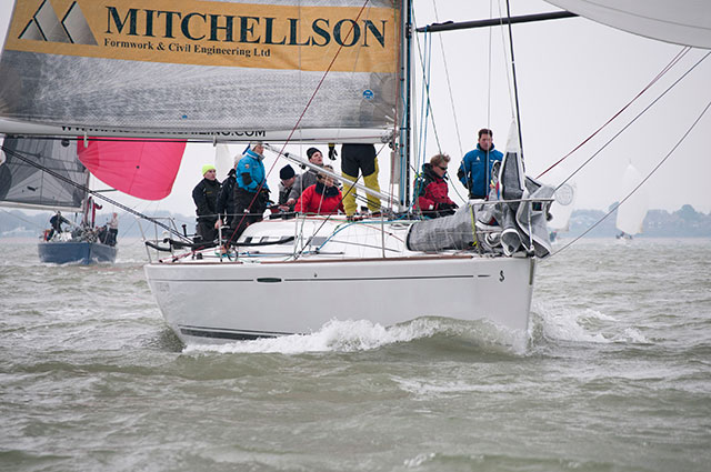 Cool conditions for Warsash Spring Series - boats com