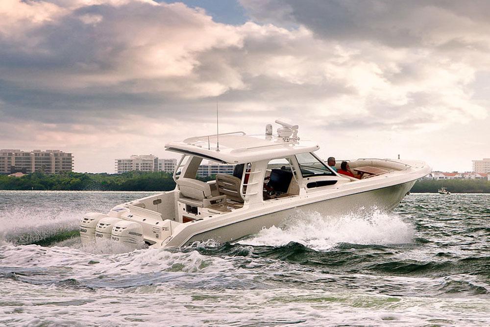 Boston Whaler 350 Realm review