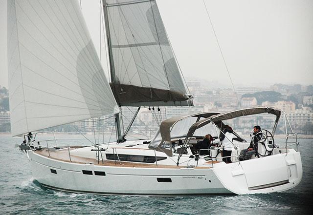 Jeanneau Sun Odyssey 469 test sail