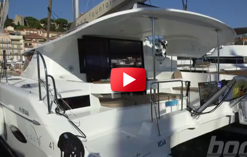 Fountaine Pajot 41 First Look Video