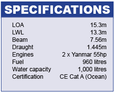 Isara 50 Specifications