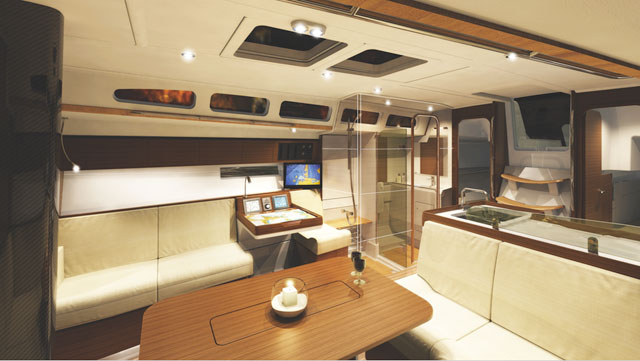 new xp 50 50-footer from x-yachts
