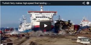 Ship beaching