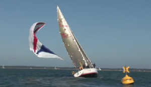 How not to fly a spinnaker video
