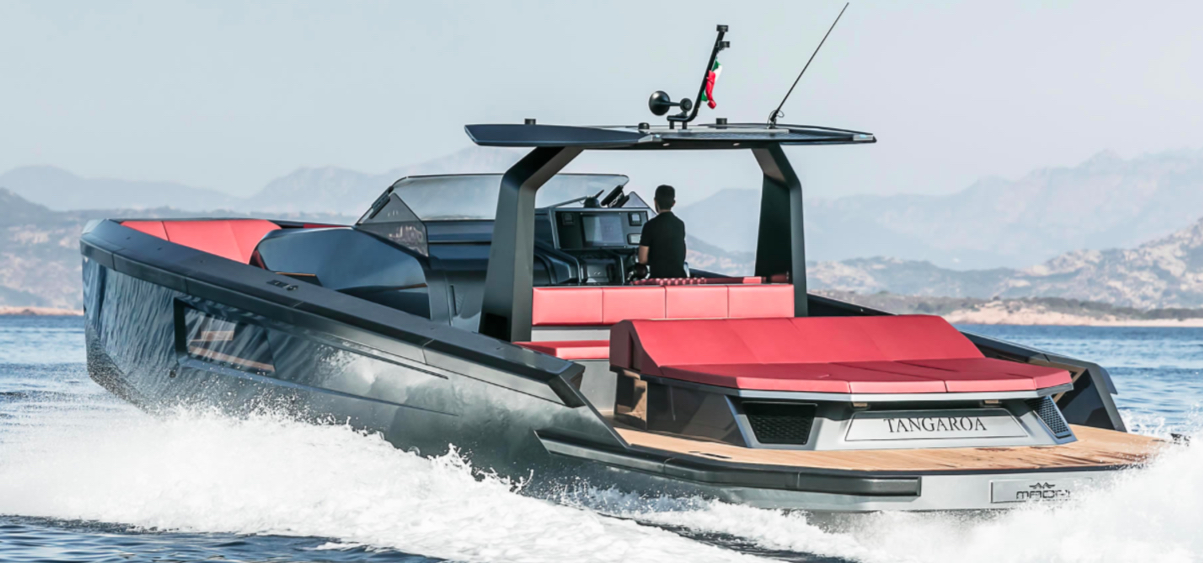 New Maori Yachts 54 Cabriolet
