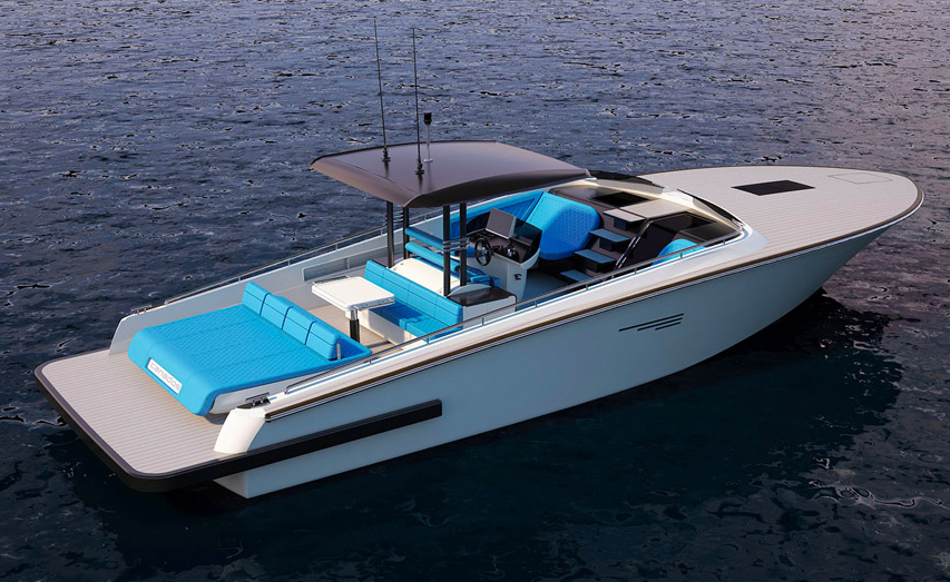 The Gladiator 428 Day Cruiser Will Be Smallest Canados Yacht For 30 Years