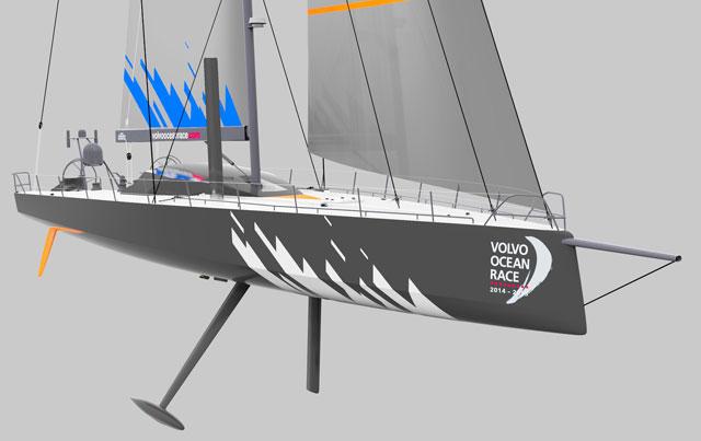New Volvo Ocean Race Boat Design