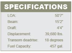Sealien T50 specifications
