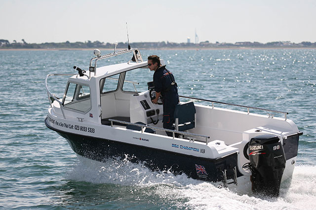 Sea Champion 18 Fisher: compact and effective