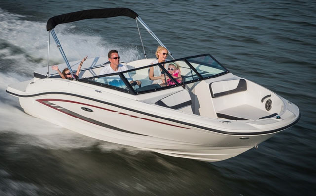 Sea Ray 19 SPX: a bow rider with breadth