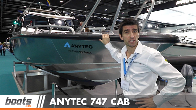 Anytec 747 CAB: First Look Video
