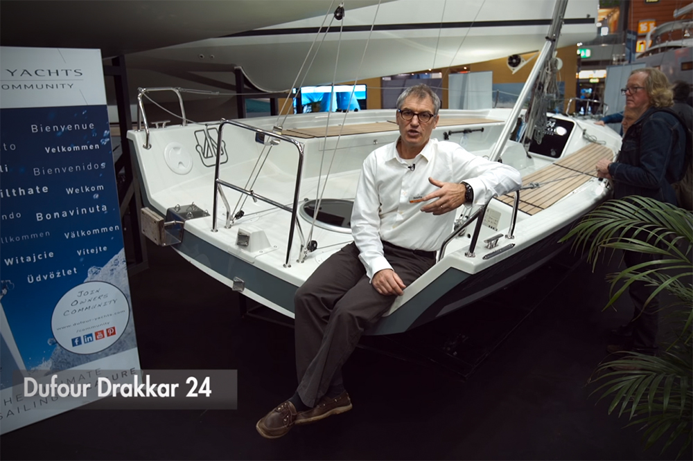 Dufour Drakkar 24: First Look Video