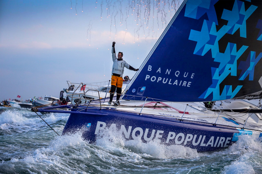 Vendee Globe 2016-17: Le Cleac'h wins, Thomson second