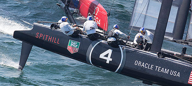 Spithill wins America's Cup World Series 2011-12