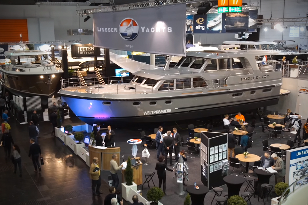 Linssen Grand Sturdy 590 AC: First Look Video
