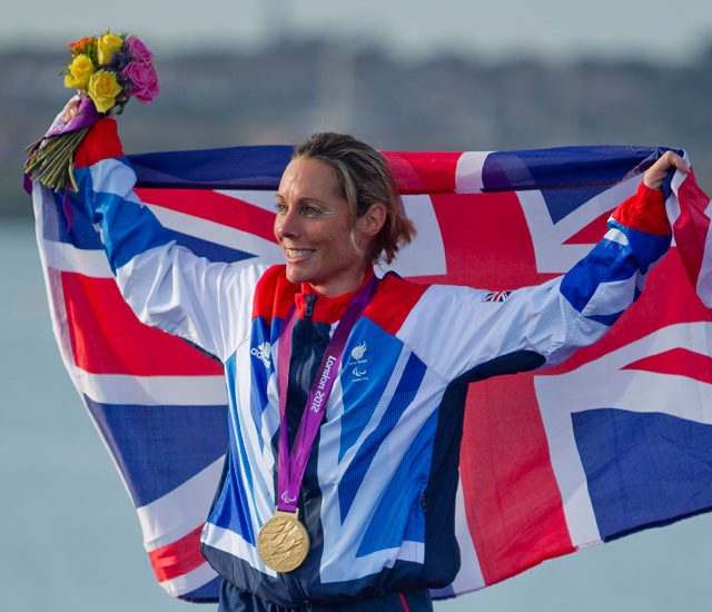 Gold and bronze Paralympic sailing medals for Team GB