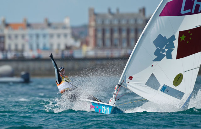 Olympic sailing wins for China and Australia