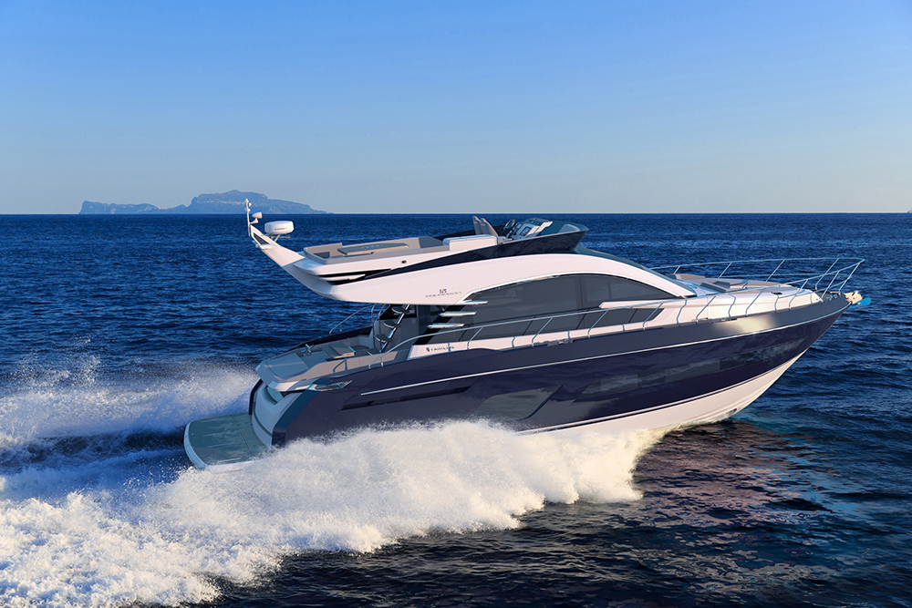 Fairline Squadron 53 world debut