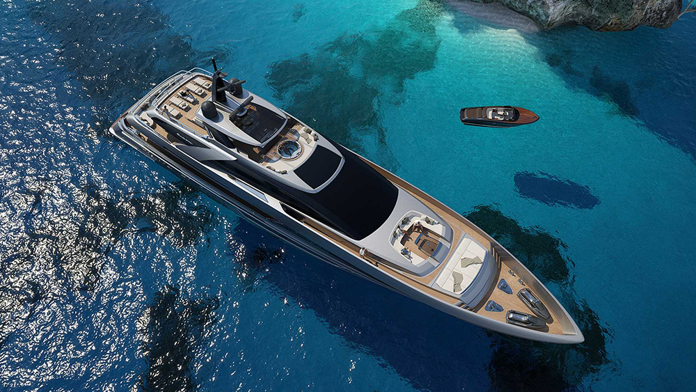 Riva superyacht: new 164-footer